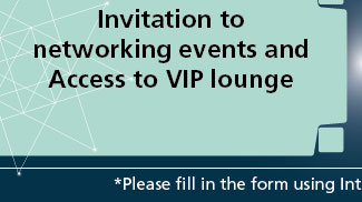 Invitation to networking events and Access to VIP lounge